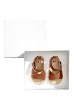 Leather sandals - Camel - Kids | H&M CN 2